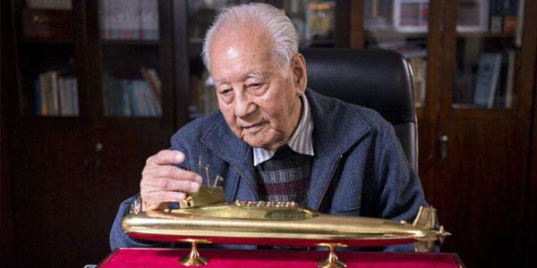"""黄旭华,隐姓埋名三十年的""""核潜艇之父"""""""