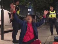 当中国游客遭遇瑞典警察
